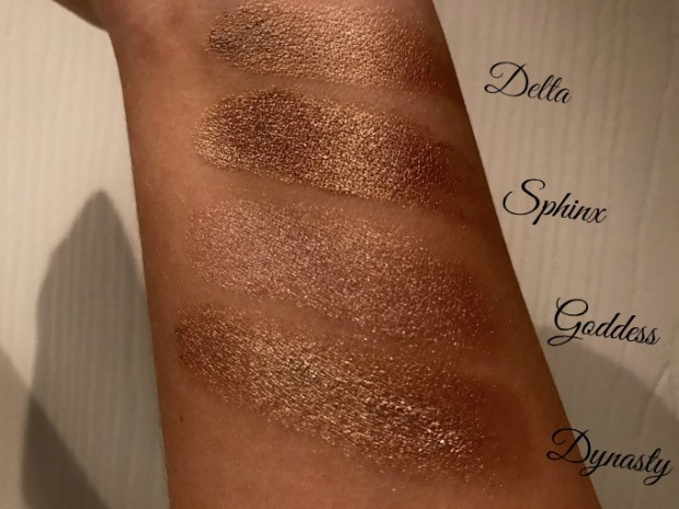 cleopatras kiss swatches