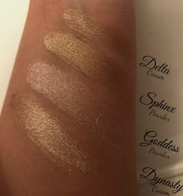 cleopatras kiss swatches--