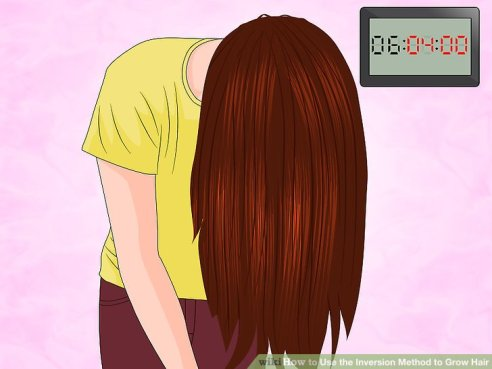aid4553250-v4-728px-Use-the-Inversion-Method-to-Grow-Hair-Step-7